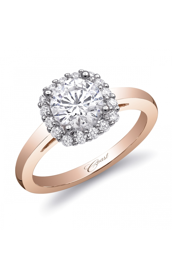 99e74f7b3 Coast Diamond Rose Gold engagement ring LC5381RG product image. Loading zoom