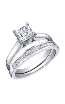 Maple Leaf Diamonds Wedding Sets R1923WG/100-18 product image