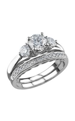 Maple Leaf Diamonds Wedding Sets R3479WG-135-18 product image