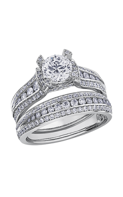 Maple Leaf Diamonds Wedding Sets R3799WG-165-18 product image
