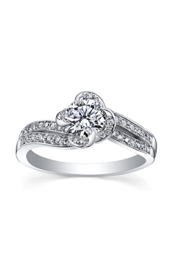 Maple Leaf Diamonds Engagement Rings R3871WG-50-18 product image