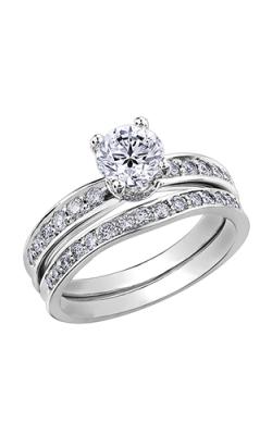 Maple Leaf Diamonds Wedding Sets R3865WG/55-18 product image