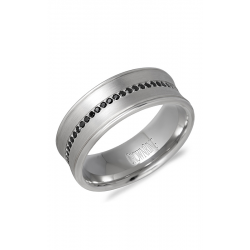 CrownRing Diamond Wedding band WB-9615W product image