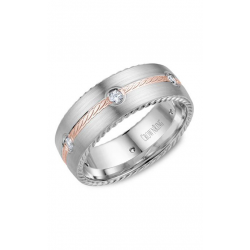 CrownRing Rope Wedding Band WB-014RD8RW product image