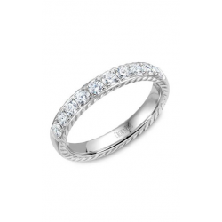 CrownRing Rope Wedding band WB-015RD4W product image