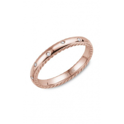 CrownRing Rope Wedding Band WB-019RD3R product image
