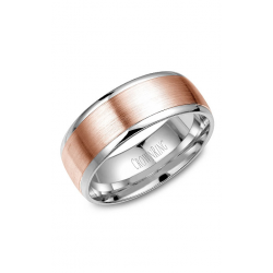 CrownRing Classic And Carved Wedding Band WB-RW7068 product image