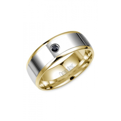 CrownRing Diamond Wedding Band WB-7972 product image