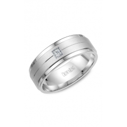 CrownRing Diamond Wedding Band WB-9102 product image