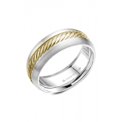 CrownRing Rope Wedding Band WB-060R8YW product image