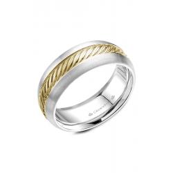 CrownRing Rope Wedding Band WB-060R8YW product image