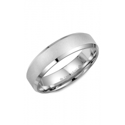 CrownRing Classic And Carved Wedding Band WB-7007SB product image