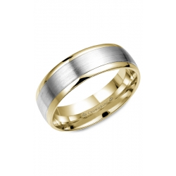 CrownRing Classic And Carved Wedding Band WB-7153 product image