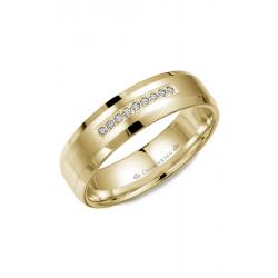 CrownRing Diamond Wedding band WB-9612Y product image