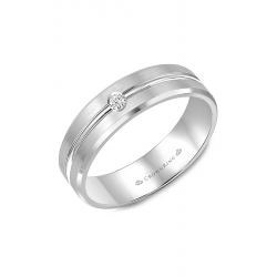 CrownRing Diamond Wedding Band WB-9125 product image
