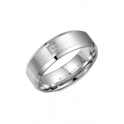 CrownRing Diamond Wedding band WB-9826 product image