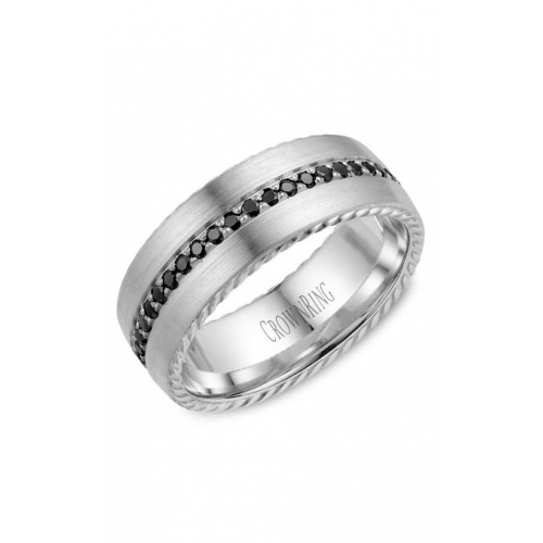 CrownRing Rope Wedding band WB-002RD8W product image