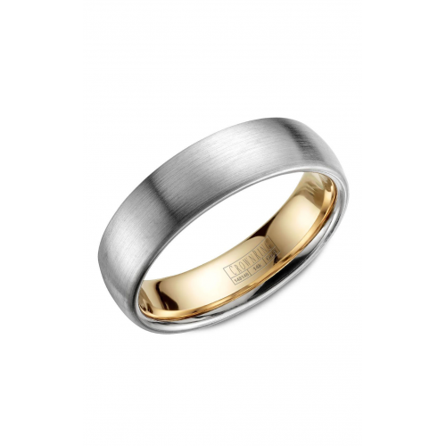CrownRing Classic and Carved Wedding band WB-039C6WY product image