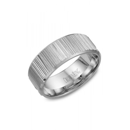 CrownRing Classic and Carved Wedding band WB-7971 product image
