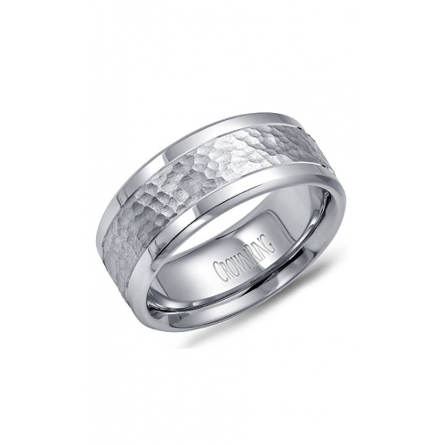 CrownRing Classic and Carved Wedding band WB-9622 product image