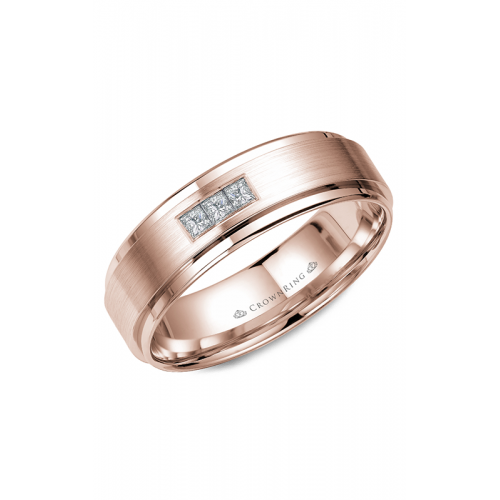CrownRing Diamond Wedding band WB-7973R product image