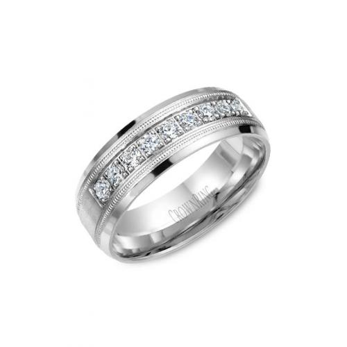 CrownRing Diamond Wedding band WB-9346 product image