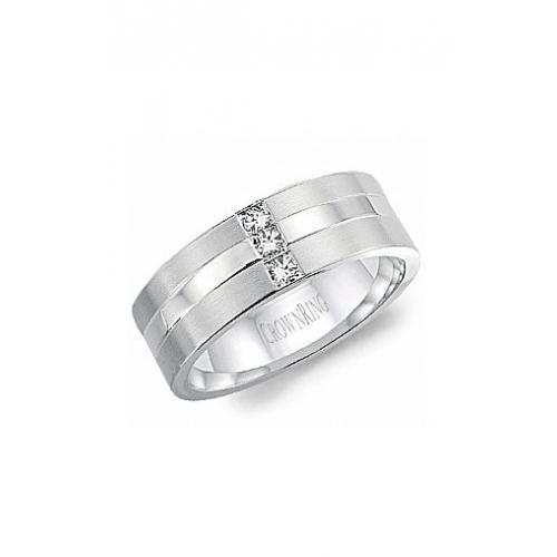 CrownRing Diamond Wedding band WB-8252 product image