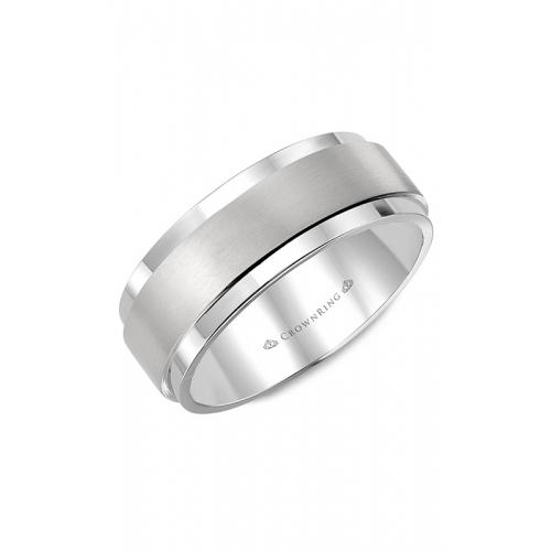 CrownRing Diamond Wedding band WB-9004 product image