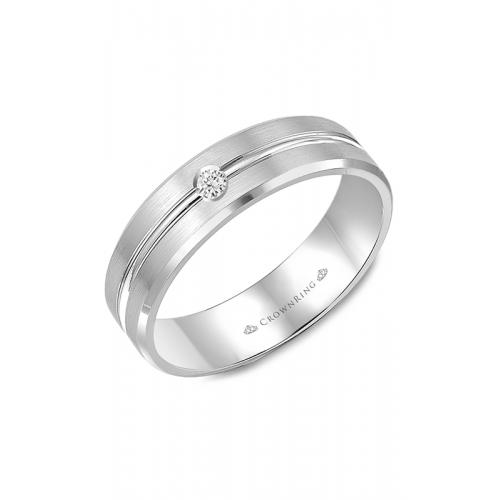 CrownRing Diamond Wedding band WB-9125 product image