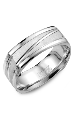 CrownRing Carved Wedding band WB-7909 product image