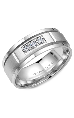 Crown Ring Men's Wedding Band WB-8200 product image