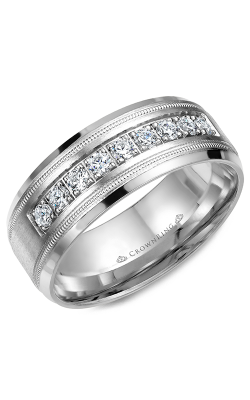 Crown Ring Men's Wedding Band WB-9083 product image