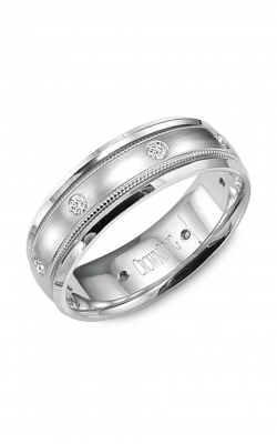Crown Ring Men's Wedding Band WB-9025 product image