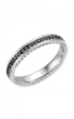 Crown Ring Men's Wedding Band WB-002RD35W product image