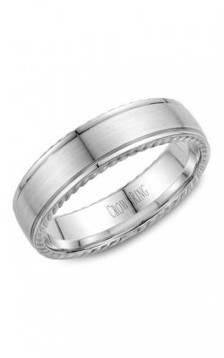 CrownRing Wedding Band Rope WB-005R6W product image