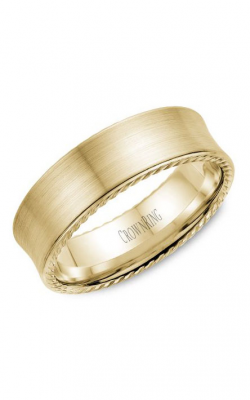 Crown Ring Men's Wedding Band WB-008R7Y product image