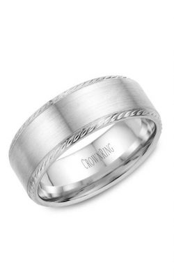 CrownRing Wedding Band Rope WB-011R8W product image
