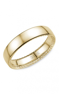 CrownRing Wedding Band Rope WB-012R5Y product image