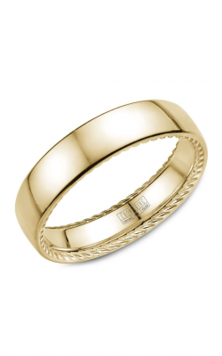 Crown Ring Men's Wedding Band WB-012R6Y product image