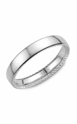 Crown Ring Men's Wedding Band WB-012R35W product image