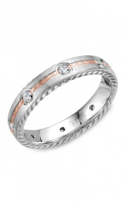 CrownRing Wedding Band Rope WB-014RD4RW product image