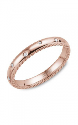 CrownRing Wedding Band Rope WB-019RD3R product image