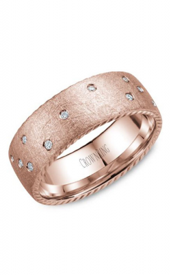 CrownRing Rope Wedding band WB-020RD8R product image