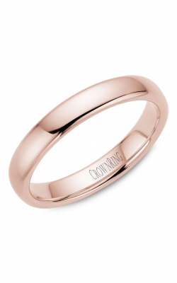 Crown Ring Men's Wedding Band TDS14R4 product image