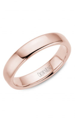 Crown Ring Men's Wedding Band TDS14R5 product image