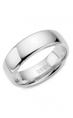 Crown Ring Men's Wedding Band TDS14W7 product image