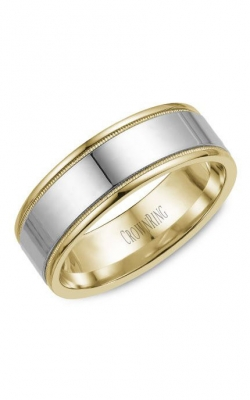 Crown Ring Men's Wedding Band WB-6811 product image