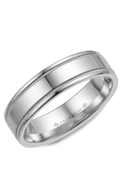 CrownRing Wedding Band Classic And Carved WB-6901 product image