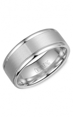 Crown Ring Men's Wedding Band WB-7134 product image