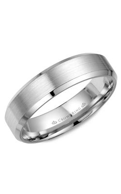 CrownRing Wedding Band Classic And Carved WB-7281 product image